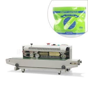 Automatyczna maszyna do ciągłego zamykania toreb plastikowych z drukarką kodującą FR-900