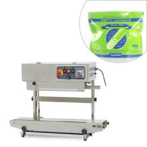 Automatyczna maszyna do ciągłego zamykania toreb plastikowych z drukarką kodującą FR-900V
