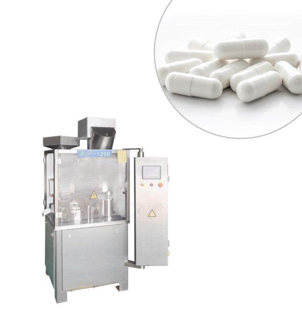 Automatyczna maszyna do napełniania i kapsułkowania kapsułek NJP-1200C