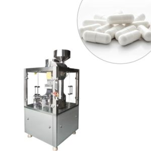 Automatyczna maszyna do napełniania kapsułek o wysokiej dokładności napełniania NJP-1200D
