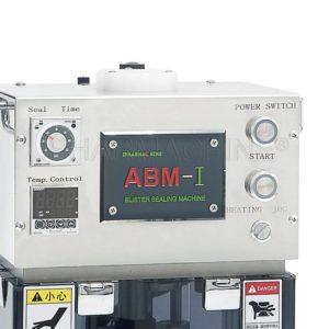 Półautomatyczna mała maszyna do pakowania blistrów ABM-I