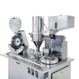 Półautomatyczna maszyna do napełniania kapsułek JTJ-V typ pionowy